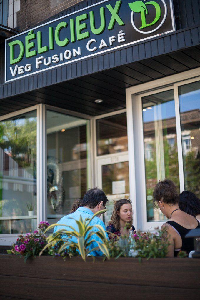 Restaurant Délicieux Veg Fusion Café Photo
