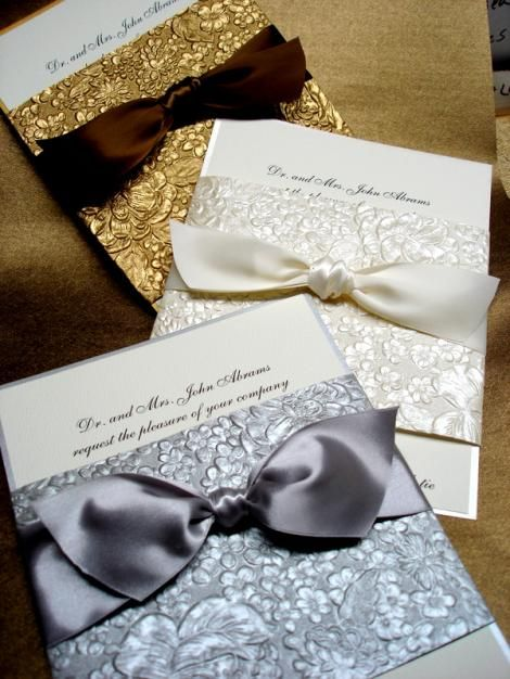 handmade+wedding+invitations   Exquisite handmade decorative band wrapped around 2 layer card. Bands ...
