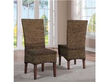 Shop For Riverside Woven Leaf Side Chair And Other Dining Room Chairs At Union Furniture In MO Constructed Of Hardwood Solid