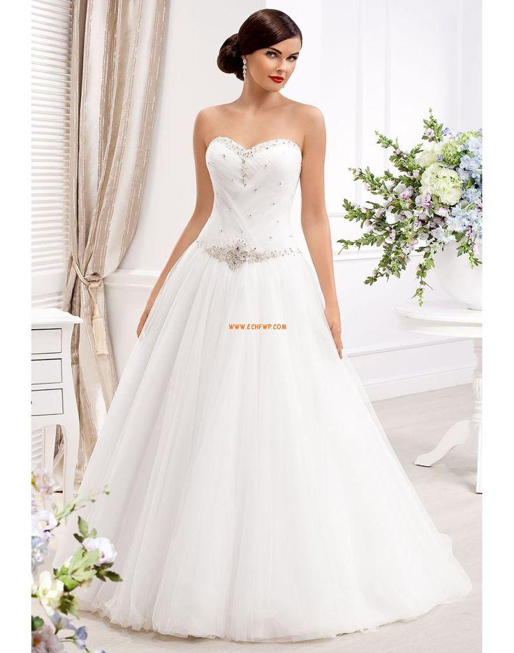 Princess-Stil bodenlang Crystal detailliert Brautkleider 2014