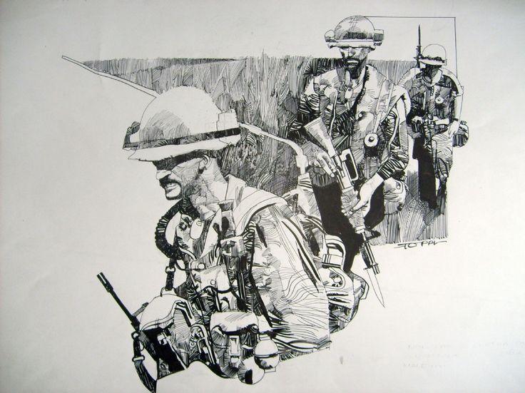 Sergio Toppi - Vietnam Comic Art