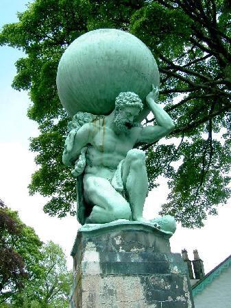 hercules-statue.jpg (337×450)Portmeirion, UK: Hercules Statue