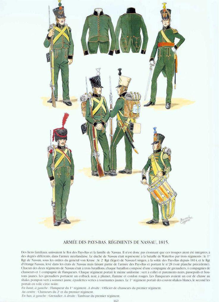 Nassau Infantry 1815