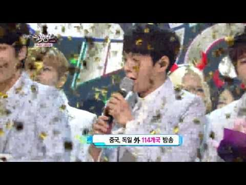 Moved INFINITE after K-chart No.1 in Music Bank (20140613)