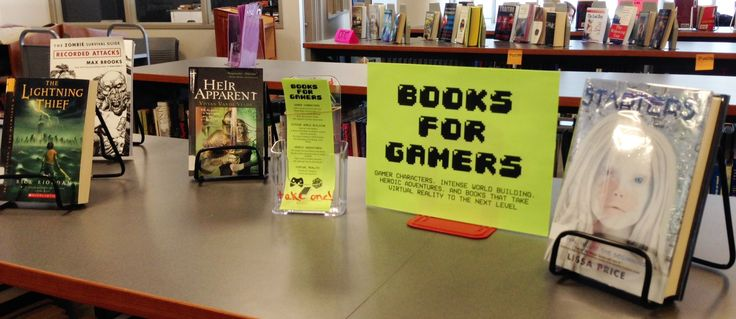 Book for Gamers - Gamer characters, world building, heroic adventures, and virtual reality. (February 2015)