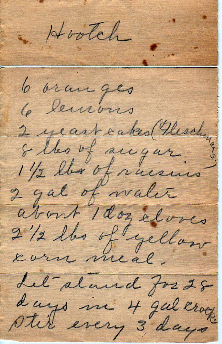 Hooch :: Family Recipes :: preserving recipes :: In the Kitchen :: Good Ole Days :: from the heart :: old fashion cookery