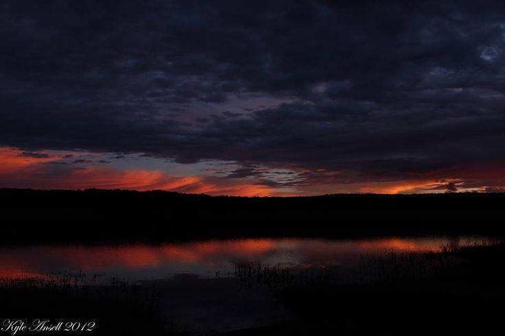 BEAUTIFUL! {Photographed by: Ranger Kyle Ansell} #amakhala #safari #sunset