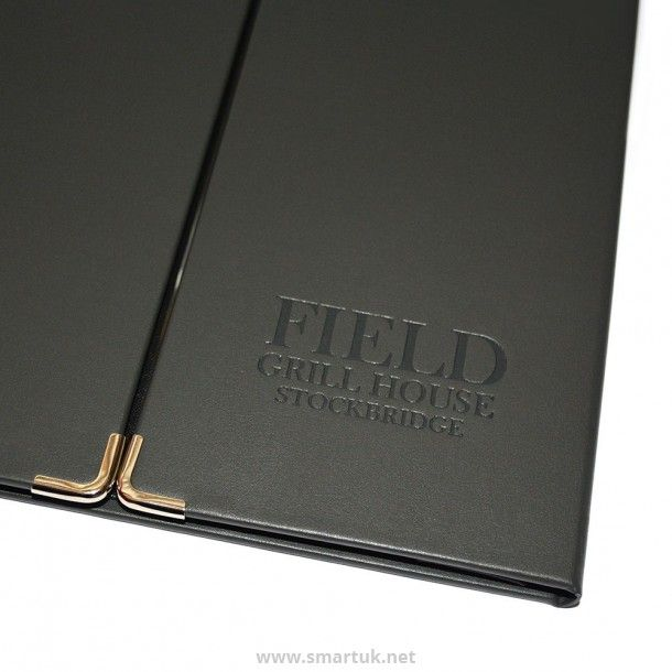 Bonded Leather Gate Fold Menu Cover - Smart Hospitality Supplies