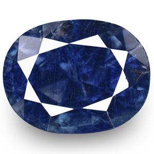 1.03-Carat GIA-Certified Unheated Royal Blue Kashmir Sapphire