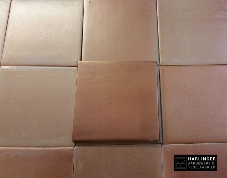 Handmade tiles from Harlingen, The Netherlands, with metallic effect glaze