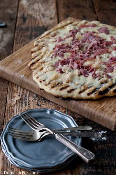 How To: Make Grilled Pizza.  And a grilled Reuben Pizza recipe