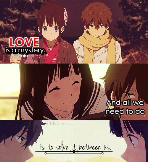 oreki and chitanda relationship quotes