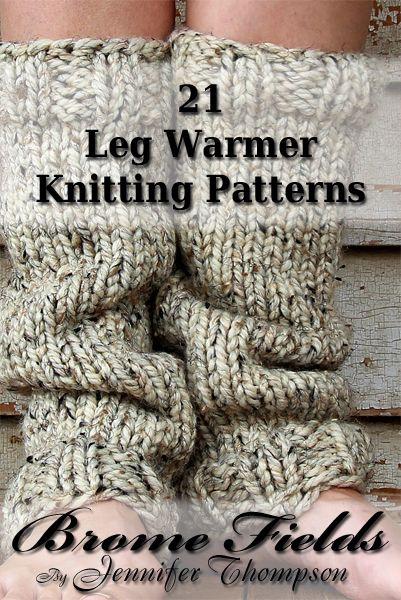 21 Leg Warmer Knitting Patterns | Brome Fields