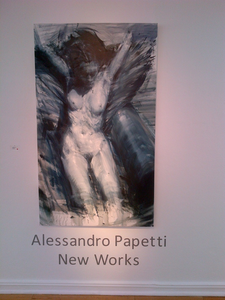 Alessandro Papetti New Works - Rosebank, Johannesburg at the Everard Read Gallery, beautiful paintings we saw..