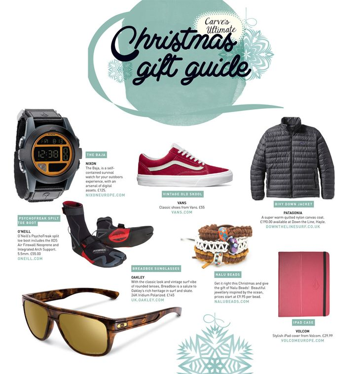 Christmas Gift Guide - Carve Surfing Magazine