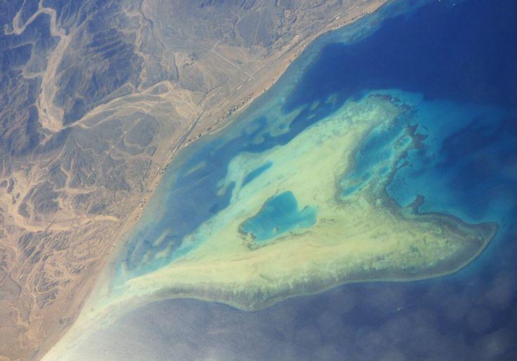 wunderschönes blaues Riff von oben, Ägypten - Foto: S. Hopp
