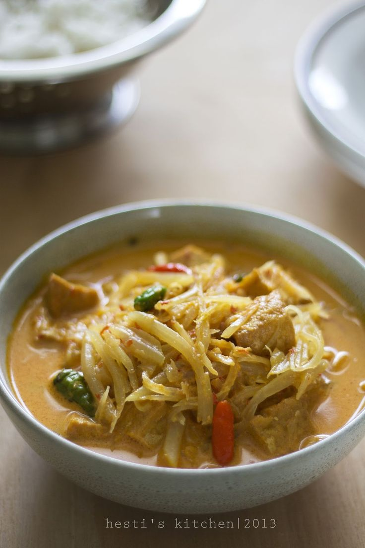 HESTI'S   KITCHEN : yummy for your tummy: Jangan Kates (Sayur Pepaya Muda)