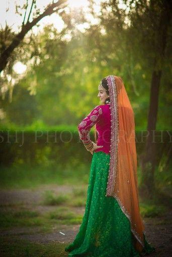 Mehndi combo # bridal#asian #lehenga