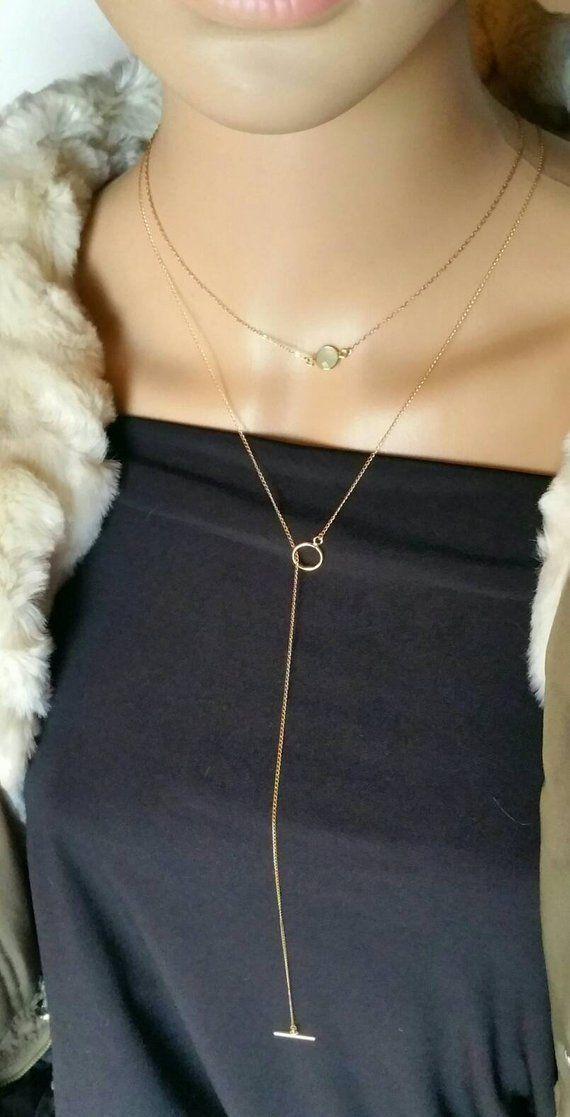 collier lasso femme