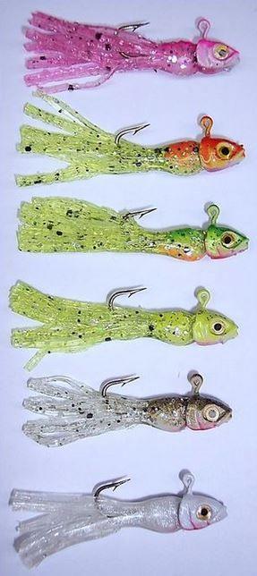 Micro Little Tough Guys, The best Ice fishing jigs on the market. gitzitinc.com 435-628-1011