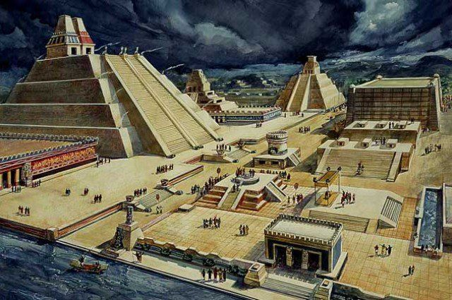 Mysterious sealed & untouched chambers discovered in ancient Aztec ruins