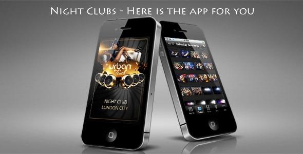 Night Club Mobile App