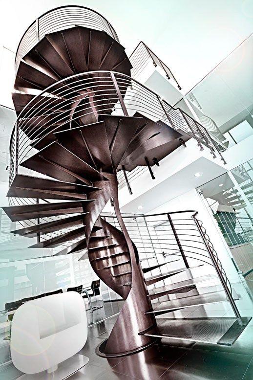 M s de 25 ideas incre bles sobre escaleras de caracol for 8 foot spiral staircase