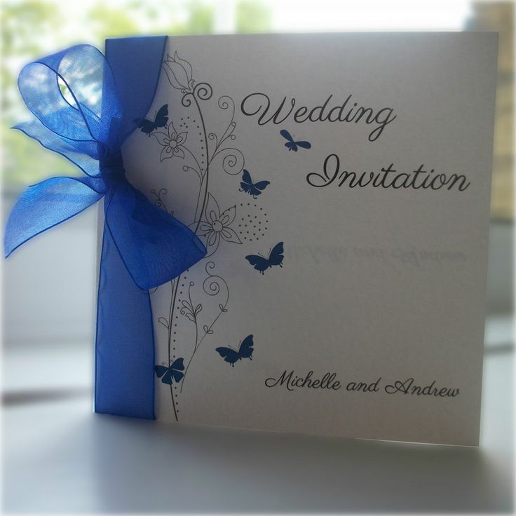 55 best wedding invitations images on Pinterest | Butterfly ...