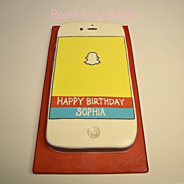 Best 25+ Iphone Cake Ideas On Pinterest
