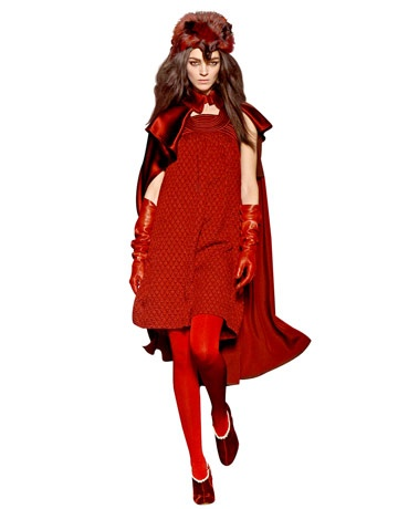 This is supposedly fashion, but looks more like superhero awesome to me.