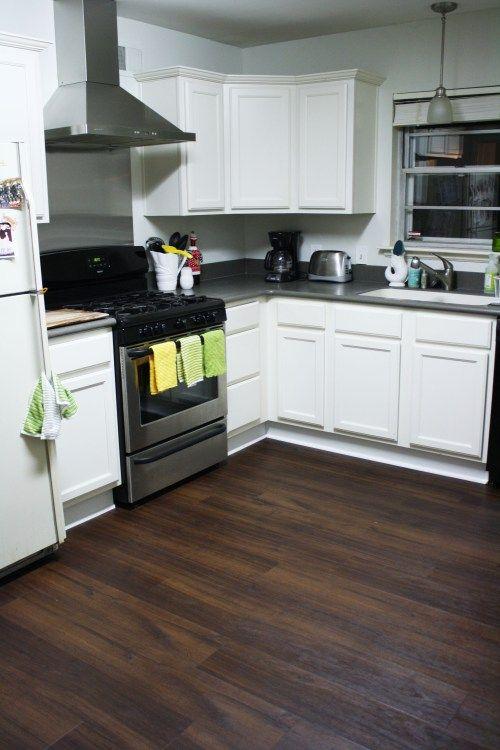 allure in kentucky oak kitchen - Allure Plank Flooring
