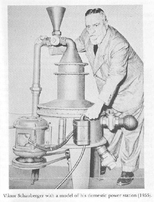 FREE ENERGY !!! Viktor Schauberger (1885-1958) a fait une contribution exceptionnelle à la connaissance du monde naturel. Il a intuitivement découvert sur ce que nous reconnaissons maintenant comme le quantum ou les effets de l'énergie subtile de l'eau. Sa compréhension s'est construite d'expériences chamaniques et d'observation de la Nature dans le désert alpin sauvage. Sa devise: « Observer et copier la Nature ».