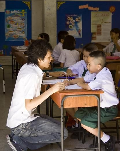 Young Thai Learners and their Teacher