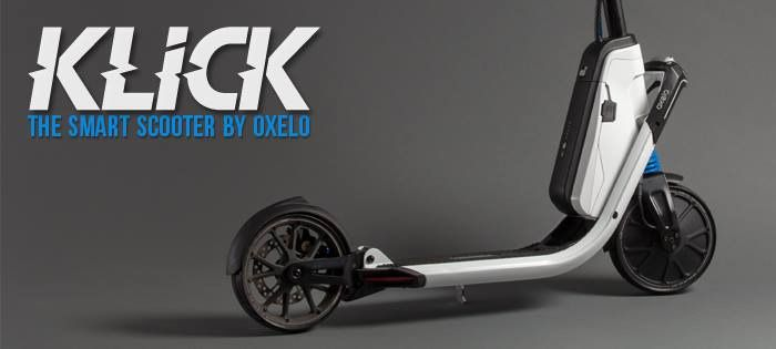 Klick electric scooter