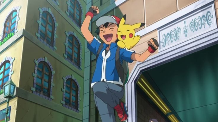 Pokemon The Series XY episode 1, Kalos, Where Dreams And Adventures Begin!