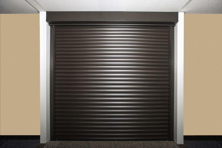 Brown Security Shutter Door In 2020 Shutter Doors Security Shutters Shutters