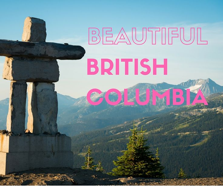 It's hard not to fall in love with - arguably - Canada's most beautiful province, British Columbia. Photo: Tourism Whistler / Mike Crane