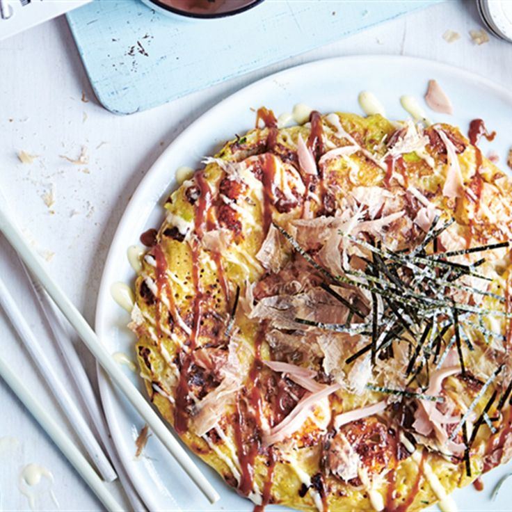 Learn how to make Okonomiyaki - a staple of Japanese cuisine. This okonomiyaki pancake recipe is full of delicious ingredients and Japanese flavours.