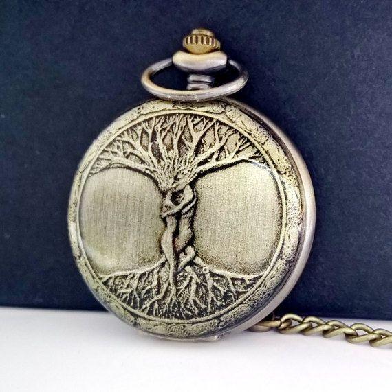 Reloj de bolsillo celta día de las padres pocket watch por BEYCE