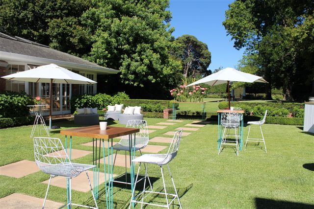 Christmas drinks in the garden, design and catering by Bay Leaf Catering