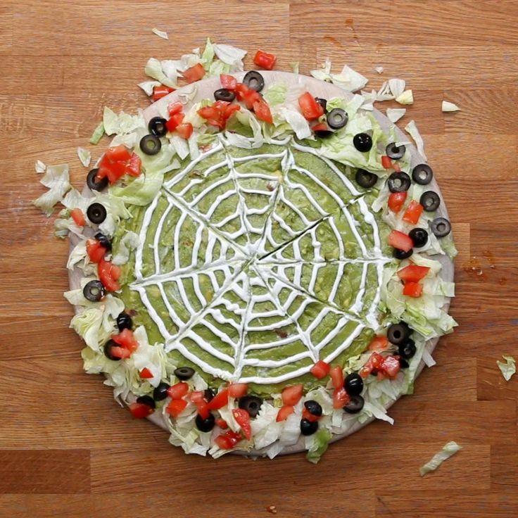 Halloween Layered Dip Recipe by Tasty