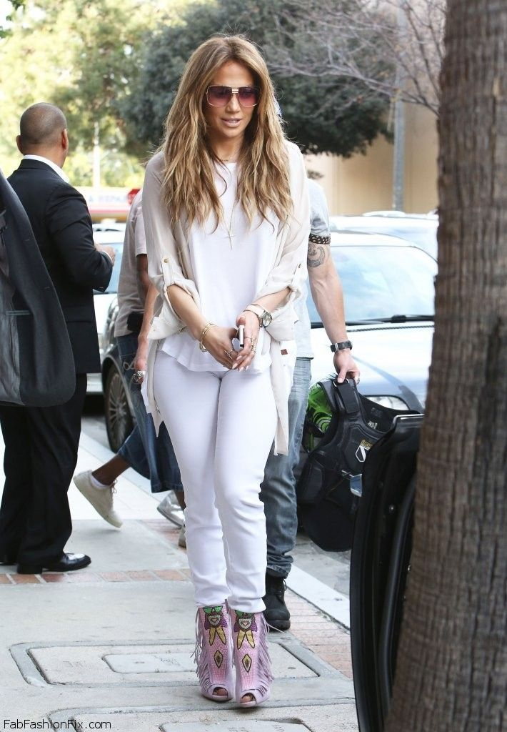 Jennifer Lopez Spring Street Style In Peaceloveworld