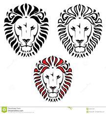 Výsledek obrázku pro lion silhouette tattoo                                                                                                                                                                                 More