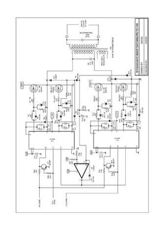 Pure Sinewave Inverter Using Pic16f72 Without Center Tap