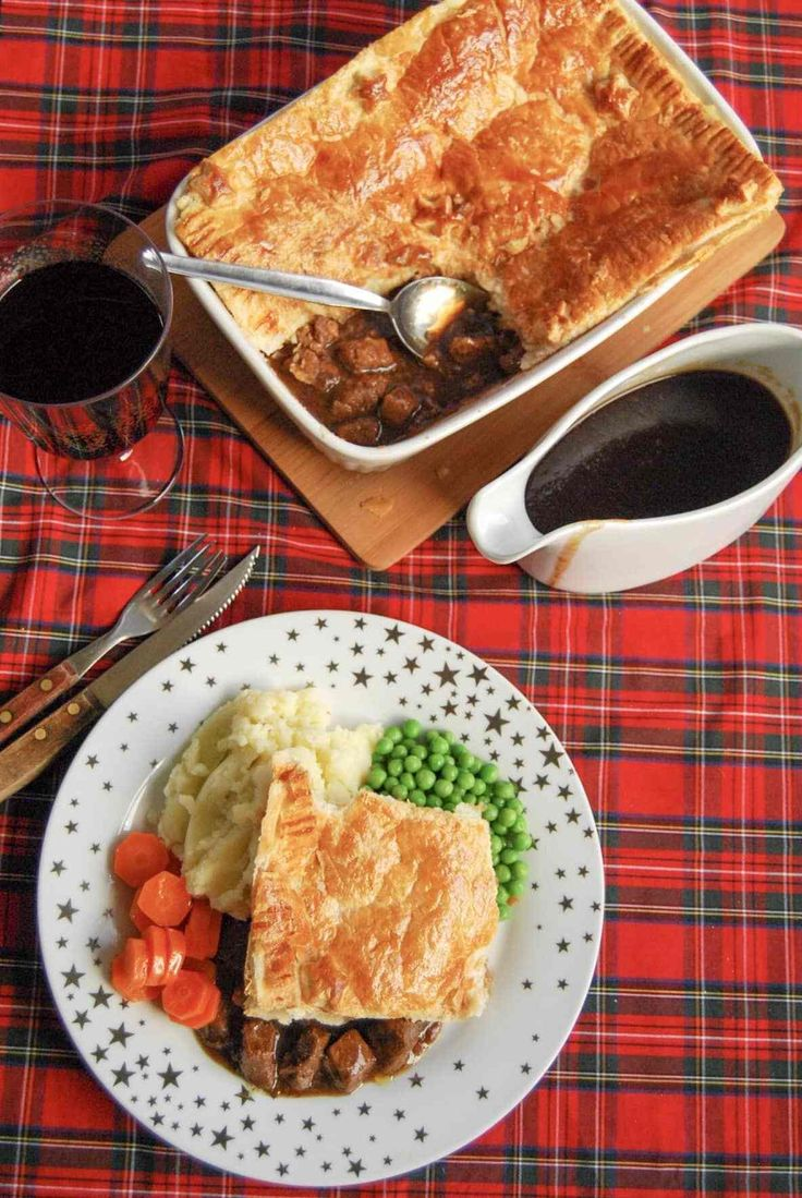 This simple, homemade Scottish steak pie is pure comfort ...