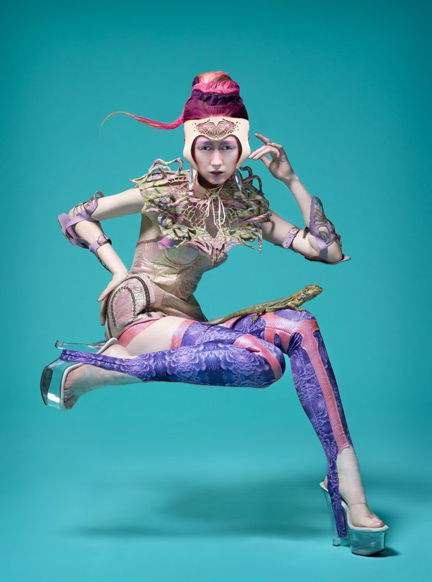 FUTURE-TIVE NATURE by Nixi Killick, recent fashion graduate from RMIT University. http://www.rmit.edu.au/fashiontextiles