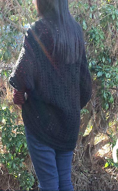 Ravelry: Easy Mesh Crochet Shrug Cardigan pattern by Nicole Wang