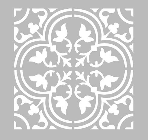 17 best images about stencil on pinterest damask wall - Pochoir deco gratuit a imprimer ...