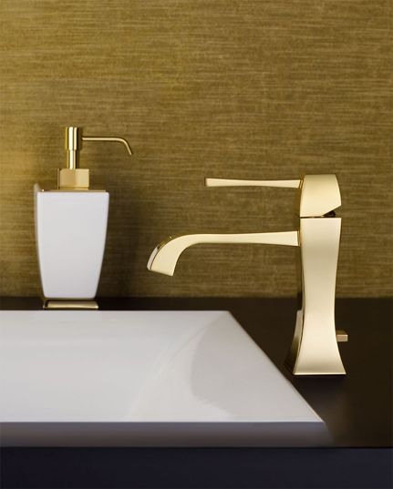 Best Gessi Inspirations Images On Pinterest Bathroom - Contemporary waterfall faucets riflessi from gessi
