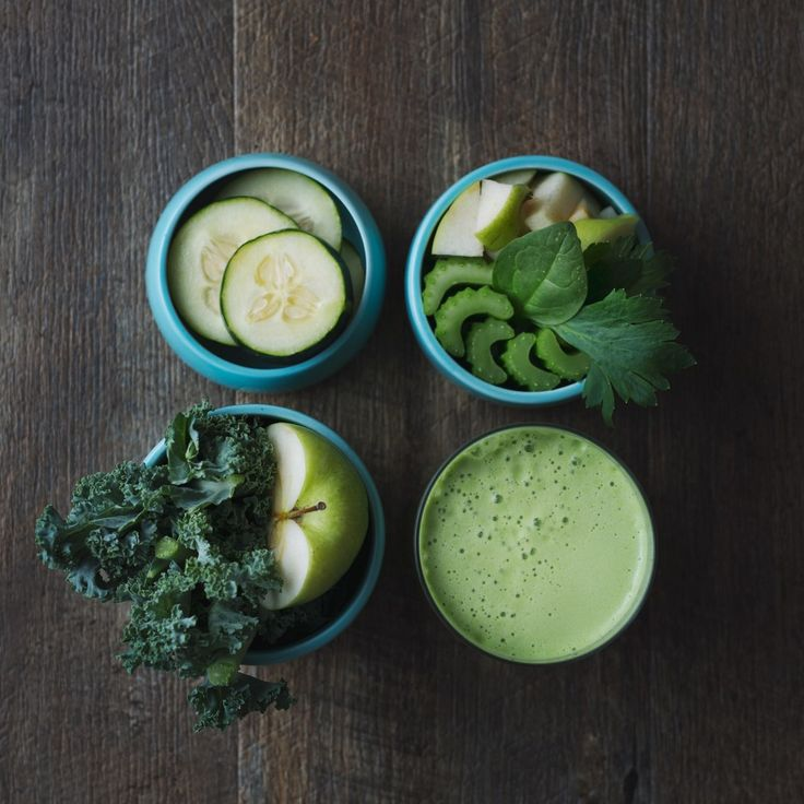 Cucumber, Spinach, Cellery, Kael & Apple
